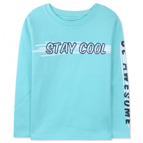 Кофта для мальчика, джемпер, мятный. Stay cool