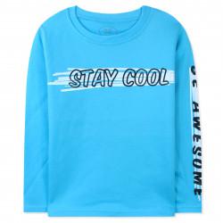Кофта для мальчика, джемпер, синий. Stay cool