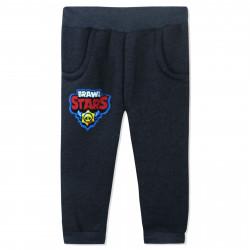 Утепленные штаны для мальчика, серые. Brawl stars.