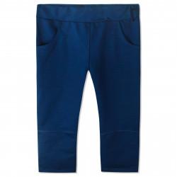 Штаны для мальчика, спортивные, морской. Однотон.