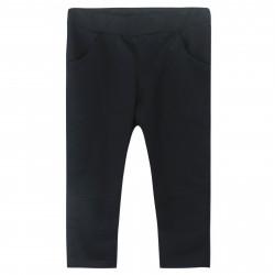 Штаны для мальчика, спортивные, черные. Однотон.