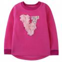 Утепленная кофта для девочки, толстовка, розовая. Super V.