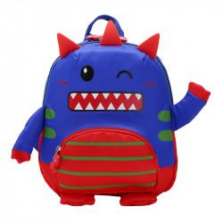 Детский рюкзак, синий. Милый монстрик.