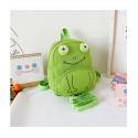Детский рюкзак, зеленый. Маленький лягушонок.