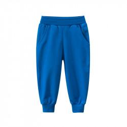 Штаны детские спортивные, синие. Джоггеры.