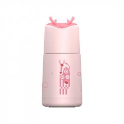Термос детский, розовый. Лосёнок. 240 мл.
