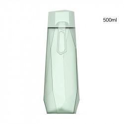 Бутылка пластиковая, мятная. Кристалл. 500 мл.