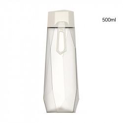 Бутылка пластиковая, белая. Кристалл. 500 мл.