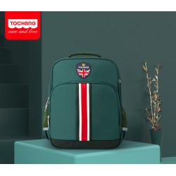 Рюкзак для мальчика, темно-зеленый. School.