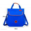 Сумка для мальчика, сумка через плечо, синяя. School.