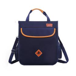 Сумка для мальчика, сумка через плечо, темно-синяя. School.