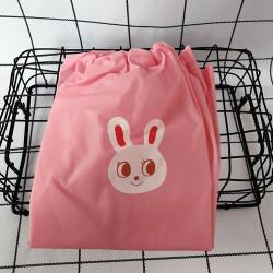 Чехлы на ножки, непромокаемые, розовые. Зайчонок.
