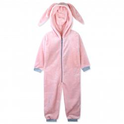 Кенгуру, пижама кигуруми, махровая, розовый. Зайчик Банни.