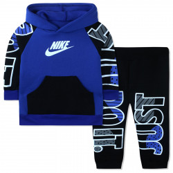 Утепленный костюм для мальчика, синий. Just do it.