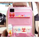 Органайзер для автомобиля, детский. Раскладной стол.Розовый кот.