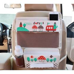 Органайзер для автомобиля, детский. Раскладной стол.Грибы