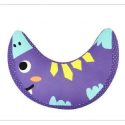 Подушка под шею, фиолетовая. Монстрик. Маленькая.