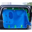 Защитная шторка для автомобиля. Бегемотик.