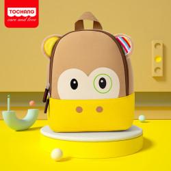 Детский рюкзак, коричневый. Малютка обезьянка.