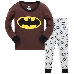 Пижама для мальчика, коричневая. Бэтмен.