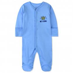 Человечек для мальчика, голубой. Быть королем.