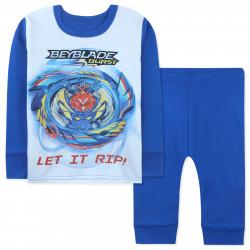 Пижама для мальчика, синяя. Бейблейд