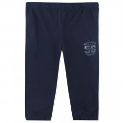 Штаны спортивные для мальчика, серые. Надпись.
