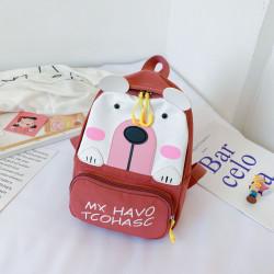 Детский рюкзак, шоколадный. Полярный мишка.