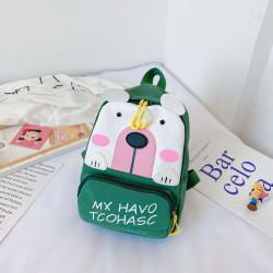 Детский рюкзак, зеленый. Полярный мишка.