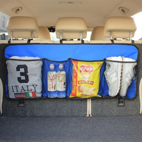 Органайзер подвесной, в багажник авто. Синий.