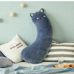 Накладка мягкая на ремень безопасности, подушка под шею. Котик. 48*23 см.