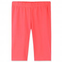 Велосипедки для девочки, бриджи до колена. Неоновый оранжевый.