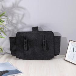 Сумка-органайзер, сумка-переноска, черный. Фетр.