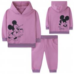 Костюм для девочки, розовый. Смешной Микки Маус.