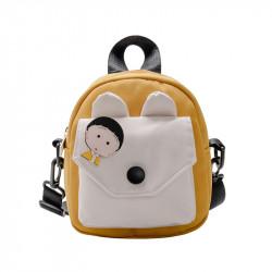 Сумка детская, сумка через плечо, желтая. Анимешка.