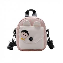 Сумка детская, сумка через плечо, розовая. Анимешка.