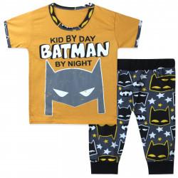 Костюм для мальчика, желтый. Бэтман.