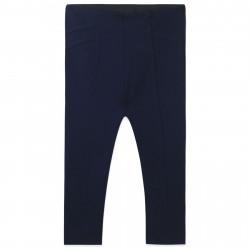 Леггинсы для девочки, лосины, брюки, темно-синие. Стиль.