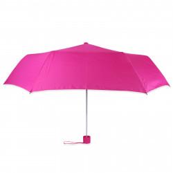 Зонт складной полуавтомат. Малиновый.
