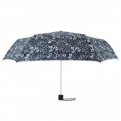 Зонт складной полуавтомат. Кружочки.