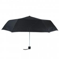 Зонт складной полуавтомат. Черный.