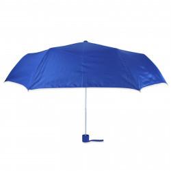 Зонт складной полуавтомат. Синий.