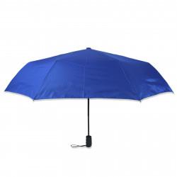 Зонт складной полуавтомат. Синий L.