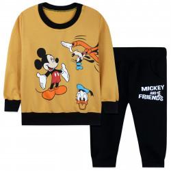 Костюм для мальчика, желтый. Микки Маус и друзья.