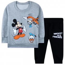 Костюм для мальчика, серый. Микки Маус и друзья.