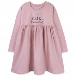 Платье для девочки, пудровое. Маленькая принцесса.