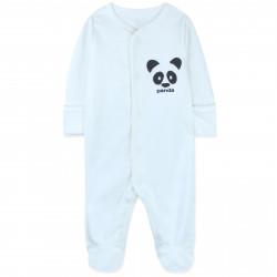 Человечек детский, белый. Панда.