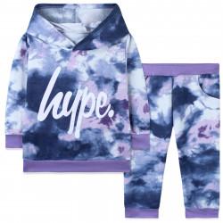 Костюм для девочки, фиолетовый. Hype.