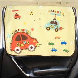 Защитная шторка для автомобиля. Радужное такси.