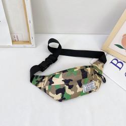 Сумка детская, поясная сумка. Зеленый хаки.